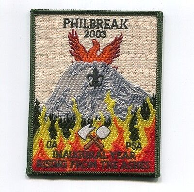 Patch From Philmont Scout Ranch-Philmont - Philbreak 2003