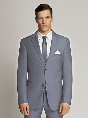 New Scuzzatti Men's Dark Blue Slim Fit Suit (36-54)