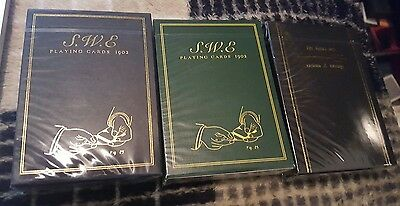 Black & Green S.w.e The Lions Den Playing Cards Decks Lot Ellusionist Theory 11