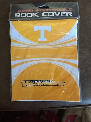 NIP Official Licensed CollegiateTennessee Vols Stretchable Book Cover 8X10 & Up