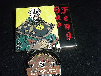 Disney Pin The Legend Lives On Sao Feng Pirates Of Thr Caribbean  Authenic New