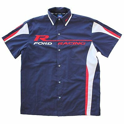 Ford Racing Team Shirt Jersey (SIZE:S) POLYESTER COTTON OFFICIAL LICENSED PROD.