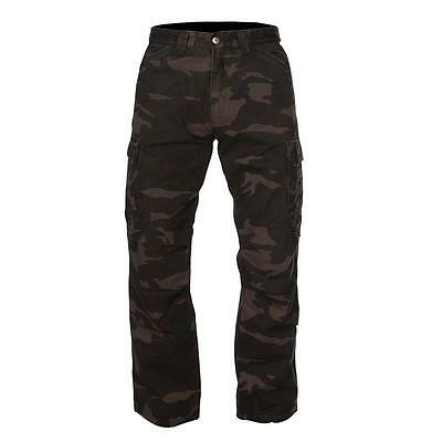 RST Mens Aramid Cargo Riding Jeans - Camo Motorcycle Street Road