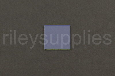 6 NEW Indium Tin Oxide (ITO) Coated Transparent Conductive Glass Slides 25x25mm