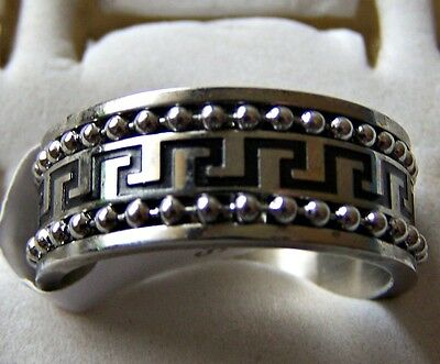 S/steel  ~ Size:10 ~Ring -- (Great_Christmas_Gift)