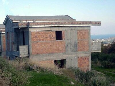 * Two Detached Houses Crete Island * Unfinished With Extra Land * Sea Views