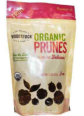New Woodstock Organic Prunes Pitted Vegan Organic Protein Daily Body Care Health
