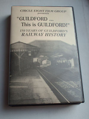Rare Railway Vhs Video This Is Guildford 150 Years History Circle Eight Films