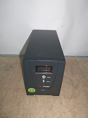 Cyber Power 1200E-B 1200VA UPS Battery Backup 6 x IEC13 USB - NO BATTS - Working