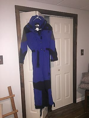 North Face one piece ski suit