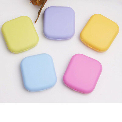 Cute For Kit Lens Mirror Travel Quality Contact Container Mini Pocket Case