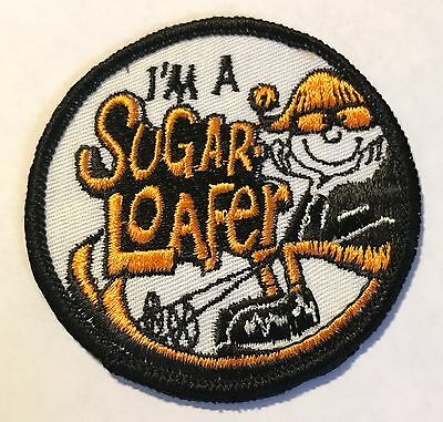 SUGARLOAF Vintage Skiing Ski Patch Carrabassett Maine ME Souvenir Resort Travel