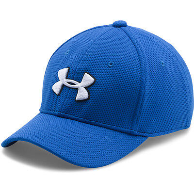 Under Armour Boys Blitzing 2.0 Cap Basecap Mütze Kappe blue black 1254660-907