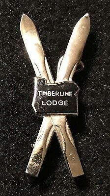 TIMBERLINE LODGE Vintage Skiing Ski Pin Mt. Hood OREGON ORE Travel Resort