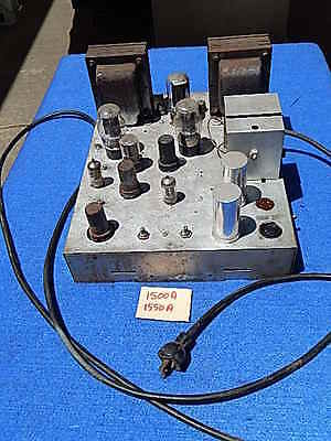 Wurlitzer 1500A 1550A Amplifier Model 520 with tubes