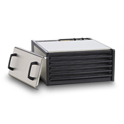 Excalibur Food Dehydrator - 5 Tray Stainless Steel Electric Dryer - DS500S - Pl