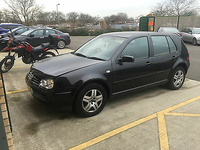 2001 VOLKSWAGEN GOLF GT TDI BLACK Spares or Repair