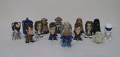 """Doctor Who Series 2 10th Doctor NEW Collection 3"""" Vinyl Figurines (Lot of 15)"""