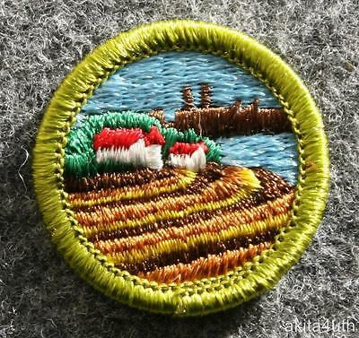 BSA  Soil and Water Conservation Merit Badge - Type H - Boy Scout