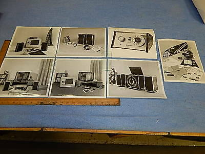 Seeburg Home Stereo Center AP1  promotional photographs - 7 different