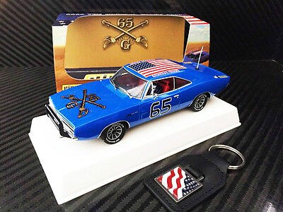 Pioneer 1:32 Scale 1968 General Grant Charger - 'crazy Blue' Edition (Po94)