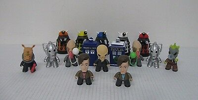 """Doctor Who 11th Doctor NEW Collection Mini 3"""" Vinyl Figurines (Lot of 16)"""
