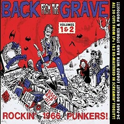 Various Artist - Back From The Grave 1 & 2 [CD New]