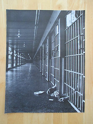 """Vintage 1972 Jail Cell Poker Magazine Clipping, 13.25"""" X 10.25"""""""