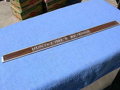 Seeburg LPC1 Nameplate Frame Assembly # 487487 with your choice of letters
