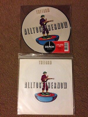 """The Farm All Together Now Original 1990 & 7"""" Picture Disc Record Store Day 2014"""