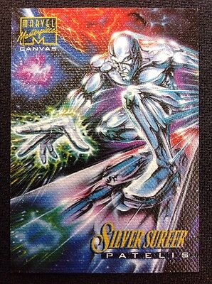 1995 Marvel Masterpieces Canvas Silver Surfer #19
