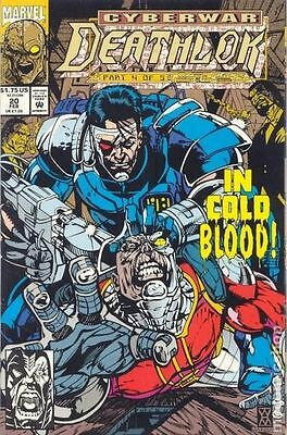 Deathlok (1991 1st Series) #20 VG LOW GRADE