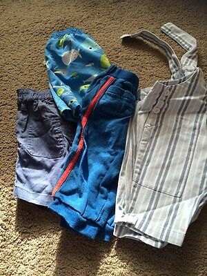 Bundle Of Boys Trousers Age 6-9 Months