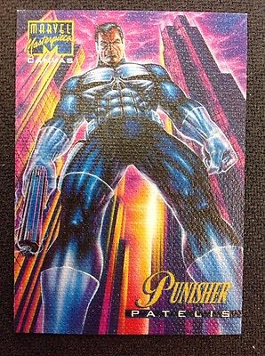 1995 Marvel Masterpieces Canvas Punisher #17