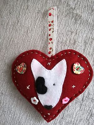 English Bull Terrier Valentines  Gift