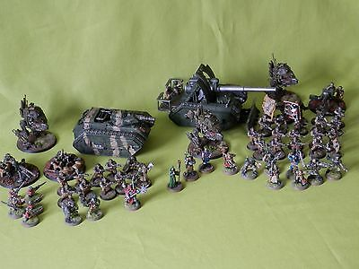 Warhammer 40K Astra Militarum Army - Many Units To Choose From