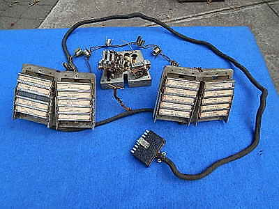 1946 Seeburg 146 Electric Selector Assembly with push buttons