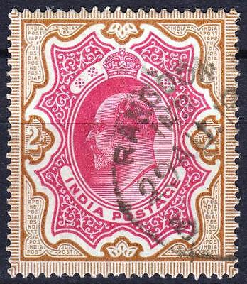 SG 139 of India, 2 Rupees, used in Rangoon