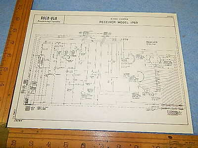 Rock-ola stepper 1769 Schematic Diagram and Installation Instructions