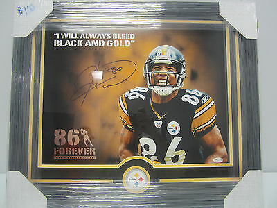 Hines Ward Pittsburgh Steelers Signed Autographed 16x20 Photo Total Sports Coa