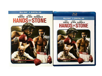 Hands of Stone Blu-ray & Digital HD NEW w/ Slipcover Free Shipping