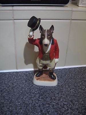 Robert Harrop Brindle Bull Terrier Ringmaster - Limited Edition of 100
