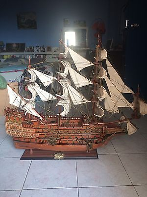 Impressive Sovereign of the Seas Handmade Amazing Large Model of Famous War-Ship