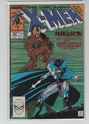 The Uncanny X-Men #256 (Dec 1989, Marvel) Very Fine 1st Lady Mandarin (Psylocke)