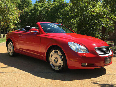 2002 Lexus SC Base Convertible 2-Door 36k low mile free shipping warranty 2 owner clean carfax sc430 luxury