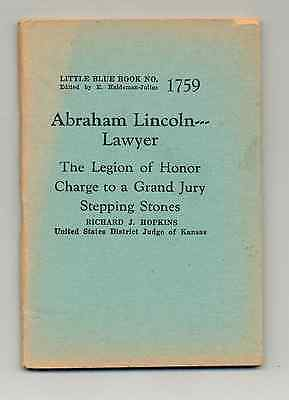 LAW: Abe Lincoln - Lawyer .pdf eBook Little Blue Book