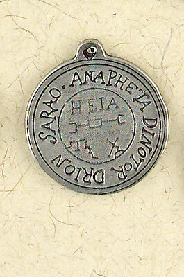 NEW Talisman for Happiness Pewter Pendant Necklace