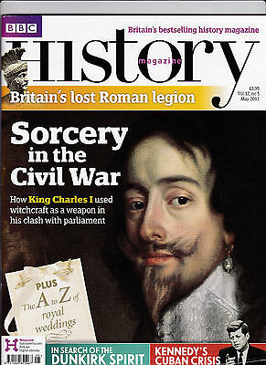 BBC HISTORY Magazine May 2011 - SORCERY IN THE ENGLISH CIVIL WAR Cover