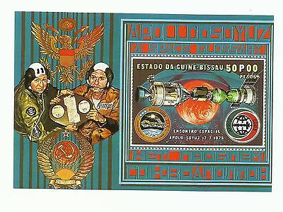 Guine Bissau 1976 - Space meeting Apolo / Soyuz 17/07/1975 S/S MNH