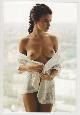 Postcard Nude Pinup Topless Breast Sexy Girl A True Gorgeous Gal Post Card 6511